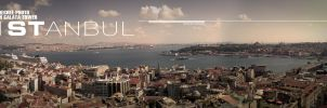 BOSPHORUS from GALATA tower by OrcunA