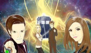 The Day Of The Doctor by Jen-Kitamura