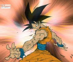 Goku Lines -TUS- by Legendary212