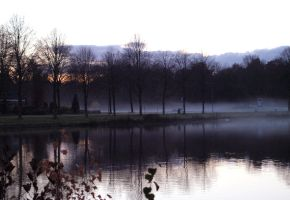 Misty afternoon by zhaleh
