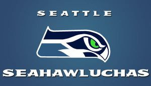 Seahawluchas by macawnivore