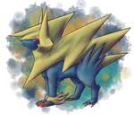 Mega Manectric by Sheketai