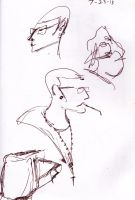 Bus Stop sketches by RenTeinre