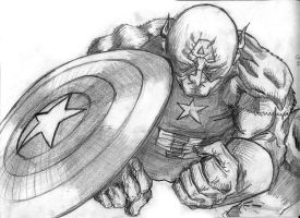Captain America by N8watcher