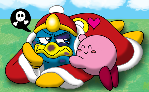 Kirby's Favorite Battle Buddy by KojinkaLuigiGodzilla