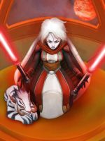SWTOR Arkanian Offshoot Sith Lord by DioMahesa by Aliens-of-Star-Wars