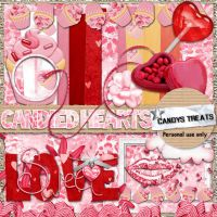 Candied Hearts freebie by candyass112