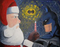 A Dark Knight Before Christmas by ZakThePelican