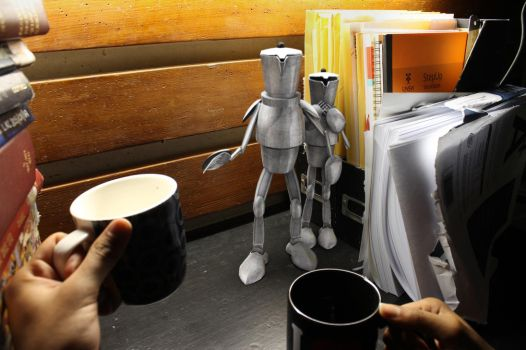 The Adventures of the Coffee Knights! by Fernandeichon
