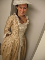 PotC Elizabeth Swann Gold Gown by shinycostumes