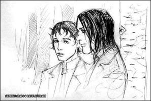 Snape and Regulus by Pojypojy