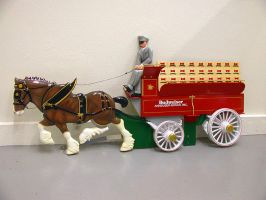 Budweiser eight horse hitch by casino13