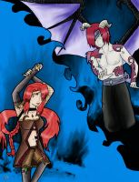 Good and evil are twins by superjacqui