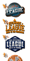 Logos D-League FNBA by JFDC