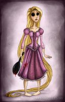 Christosized Princesses: Rapunzel by Darlasaki2