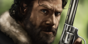 Rick Grimes Walking Dead by ThijsRozema
