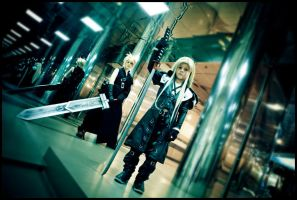 FFVII:AC - My little enemy by love-squad