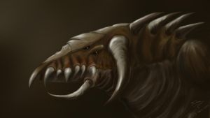 Monster by 3dmetrius