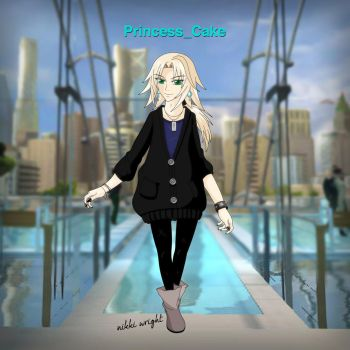 Playstation Home Avatar by PrincessCakeNikki