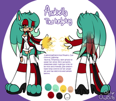 Sonic: Arabella the Hedgehog by OwlBits