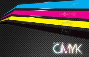 Design is... CMYK by AdamKeyes