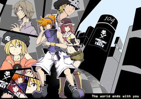 The world ends with you V.2 by criis-chan