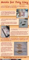 Tutorial: Molds for Poly Clay by taeliac