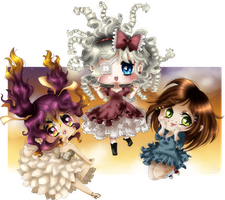 Little Phantomhives Girls by Suesanne