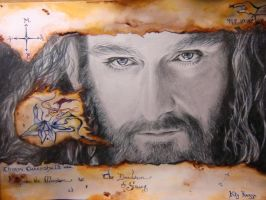 Richard Armitage - THORIN OAKENSHIELD by kty-razza