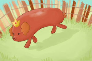 AT: Hotdog Princess Speedpaint by BellaCielo