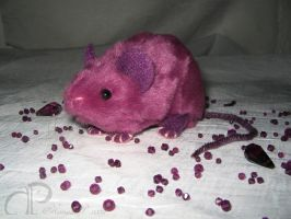 Mulberry Mouse Plushie by Morumoto