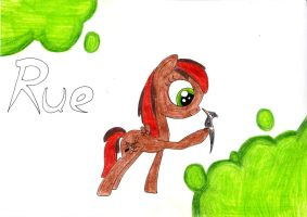 Rue from Hunger Games as a pony by SpeedFeather