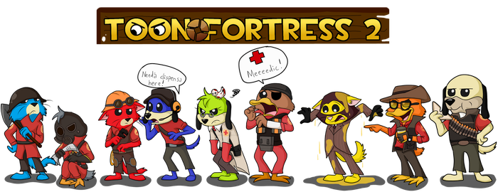 Gift: Chibi Toon Fortress by Force-O-Nature