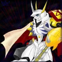 Warrior of Wonder, Omegamon by DamienMuerte