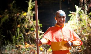 Aang in the Forest by gstqfashions