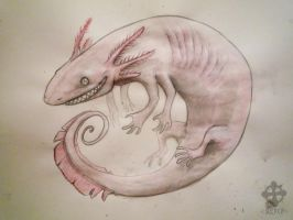 +THE VICIOUS HIGH AXOLOTL+ by Opaca