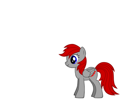 myPony redbolt silver by skywarp24