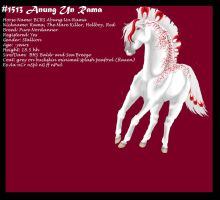 #1513 Anung Un Rama (Deceased) by Heca-Bitch4Life