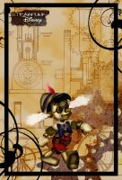 Steampunk Pinocchio by HelleeTitch