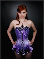 Purple corset n1 by MrDenam