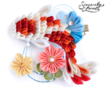 River Koi Kanzashi by SincerelyLove