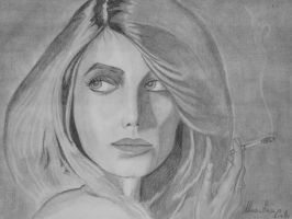 Melanie Laurent portrait by Maryluworld
