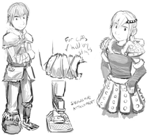 HTTYD Winter clothing designs by Duiker