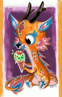 Dragon Ice Cream by Pocketowl