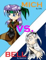 Mich Vs Bell - Cover by GhostHead-Nebula