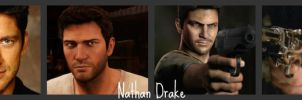 Nathan Drake Movie Actors by KelsiJGD