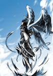Four Wings Armored Angel by Byuha