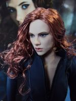 Black Widow - Hot Toys - Face by BlindMagus