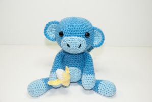 Mo the Monkey by Heartstringcrochet