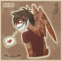 -AT- .:So you think I'm violent?:. by MoonyWings